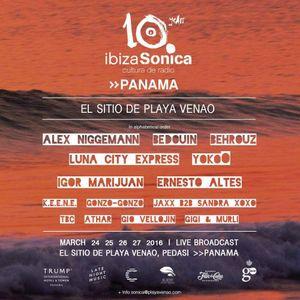 BEDOUIN - IBIZA SONICA SHOWCASE @ EL SITIO DE PLAYA VENAO (PANAMA) - MARCH 2016