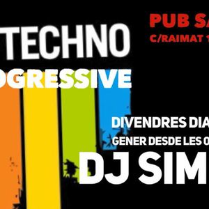djSimon @ live sesion in Alpicat Pub Safari 2018 NOCHE DE REYES -SET PROGRESSIVE-TECH- PART5