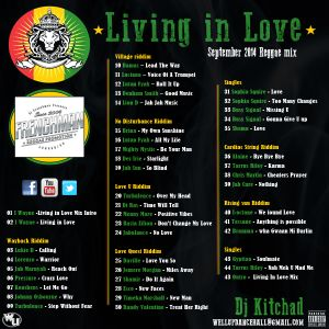 Dj Kitchad - Living In Love Mixtape