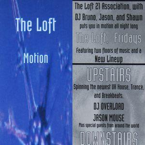 Motion #1 - Loft After Hours Club - 21 Stanhope Street, Boston, MA
