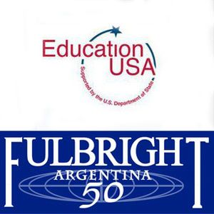Michelle Kort y Melina Ginszparg de Fulbright y Education USA en Con el Diario del Lunes