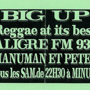 "Radio Aligre   émission "" Big Up ""  Manuman & Peter  10 / 08 / 1996"