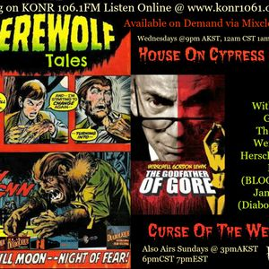 Mr. Dark's Audio Nasty Episode 1 Werewolf Tales (special guest Herschell Gordon Lewis)