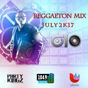 @DEEJAYGIO - REGGAETON MIX - JULY 2K17