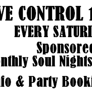 9th Nov 2013 Ash Selector's Groove Control Show on Solar Radio sponsored by Soul Shack