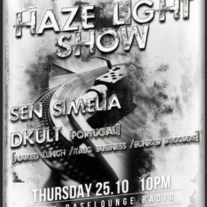 Haze Light Techno Podcast #020 Guest Mix by DKult (25.10.2012)