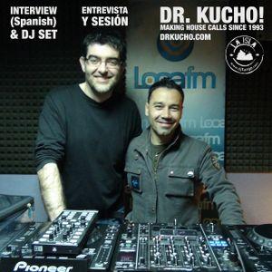"""Dr. Kucho!: entrevista y sesión / interview (spanish) and dj set en """"La Isla"""" de DJ Tango (Loca FM)"""