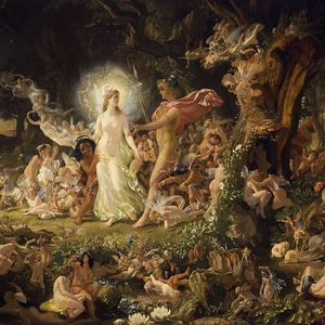 A midsummer night's party