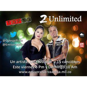Top 15 con 2 Unlimited en La Radio con Altura