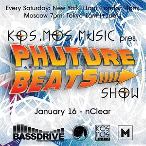 nClear – Phuture Beats Show @ Bassdrive Radio 16.01.16.
