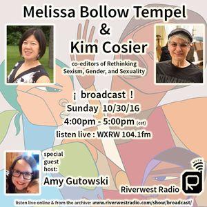 Broadcast: Kim Cosier, Melissa Bollow Tempel & Amy Gutowski - Part 1. 10-30-16