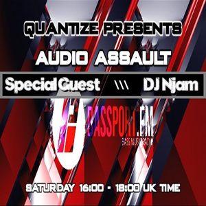#100 BassPort FM - Apr 16th 2016 (Special Guest NJam)