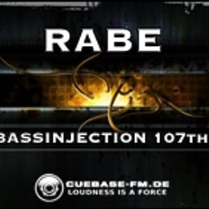 RABE - BASSINJECTION 107th - Podcast Show - Cuebase.fm - 2016