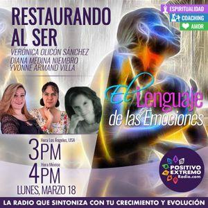 RESTAURANDO AL SER-03-18-19-EL LENGUAJE DE LAS EMOCIONES