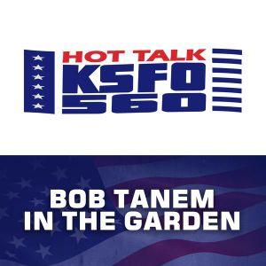 Bob Tanem In The Garden, April 19, 8:00