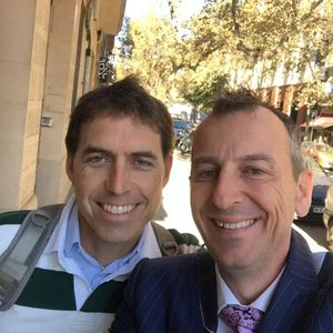 First Broadcast on Tuesday 8th Nov Barcelona People with Jim Kent meets Marc sportsmol.net