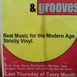 TRACKS AND GROOVES PART 2, WITH VINTAGE VINYL, 25/6/15, AT MILK, READING