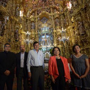 Restauracion de los retablos de la virgen de Ocotlan