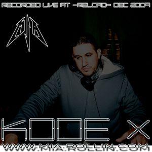 DJ Kode 10 Live @ Relode