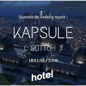 Quentin De Vedelly Invite Sottoh  - 16:11:2016