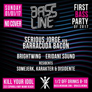 Opening set at BassLine First Bass Party of 2017 (Sorry about the airhorns at the end)