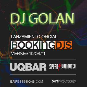 DJ Golan @ BookingDJs @ UQBar (19-08-11)