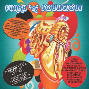 Funky 'N' Soulicious - Ronnie C Deejay Set 1