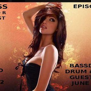 Stress Factor Podcast 052 - DJ B-12- Guest Set On BassDrive June 2011