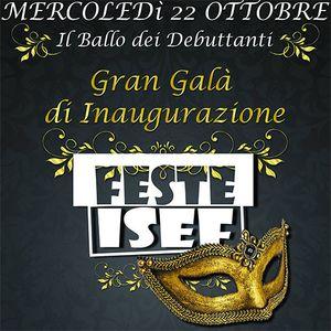 FESTE ISEF pres. Gran Galà inaugurazione 2014/15 - 22.10.2014