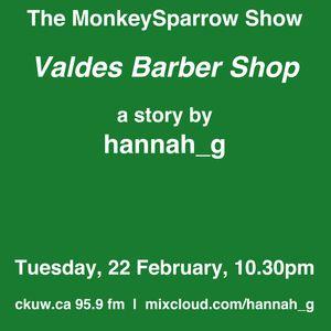 Valdes The Barber- The MonkeySparrow 35