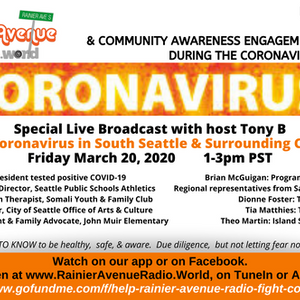 RAR Coronavirus Special 6 - Pat McCarthy & DeShawn Jackson