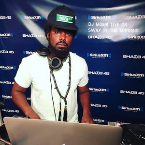 @DJMOMA-LIVE ON SWAY IN THE MORNING-SHADE45-090315