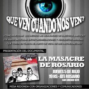 2012-07-01 Invitación a la presentación del documental La Masacre de Rosario
