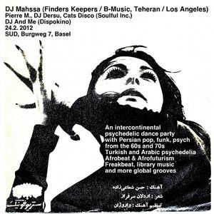DJ Mahssa set at intercontinental psychedelic dance party, Sud Basel, 2/24/2012