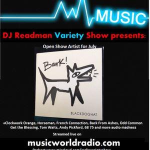 Dj Readmans Variety Show: Blackdoghat, Temptation Tapes, Odd Comomon and more audio madness