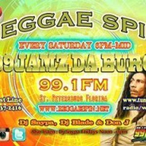 Dj Eyez Guest Spot On The Reggae Spin Show 99Jamz Da Burg 991FM