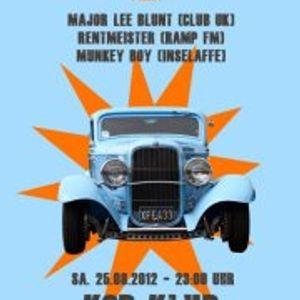 Breakbeat Boulevard @ KGB 260812 // Monkey Boy & Major Lee Blunt