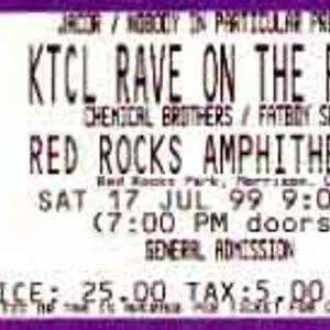 17 07 1999 - Fatboy Slim Live at Red Rocks, Colorado, USA