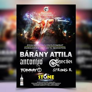 2016.03.26. Szecsei b2b Strong R. Live at Stone 6th Club, Esztergom - Saturday