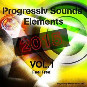 Dj Dampf   -Progressiv Sounds  Elements 2015  Vol.1