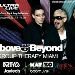 Above and Beyond - Group Therapy Miami, WMC 2012 (Miami, USA) - 22.03.2012