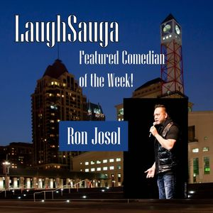 Episode 5 - LaughSauga's Featured Comedian of the Week : Ron Josol