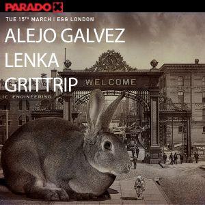 Alejo Galvez B2B Grittrip Live @ Egg London (Paradox)