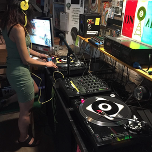 Lady-R Radio Show with JonnyGo figure