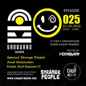 VANGUARD RADIO Episode 025 with TEKNOBRAT - 2016-10-22nd CHUO 89.1 FM Ottawa, CANADA