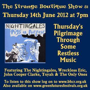 The Strange Boutique Show 81