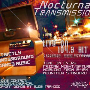 Nocturnal Transmission 11-2-12 pt 2 w/ guest John Rivera