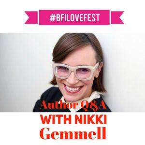 Nikki Gemmell in conversation at #BFILovefest