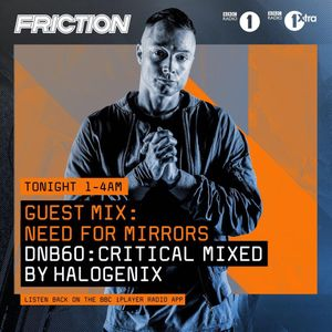 Critical Music #DNB60 with Halogenix - BBC Radio 1 July 2017
