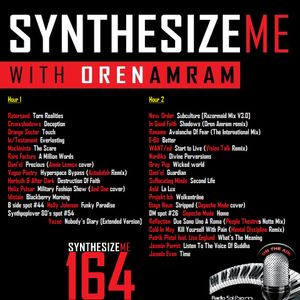 Synthesize Me #164 - 20/03/2016 - Hour 1